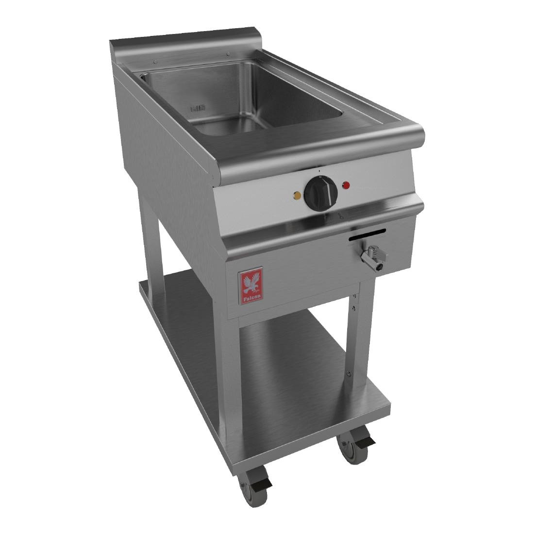 Click to view product details and reviews for Falcon Dominator Plus Bain Marie On Mobile Stand E3407.