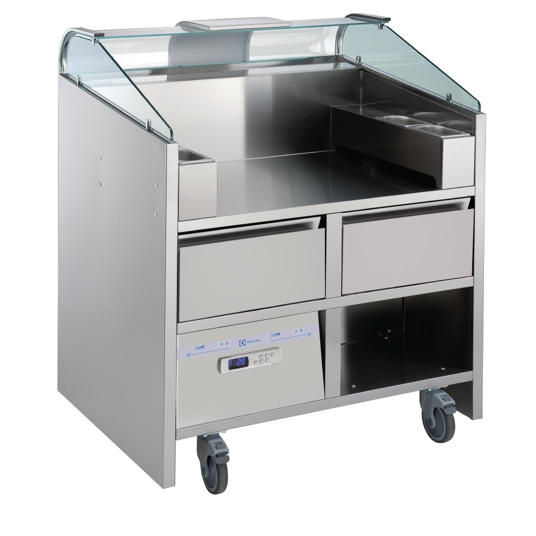 Image of Electrolux 2 Point Mobile Unit with Refrigerated Drawers NERLP2G