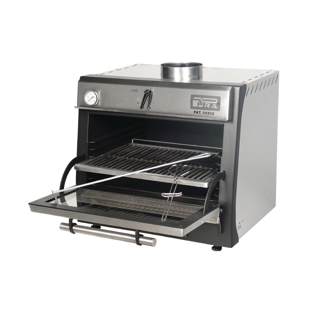 Pira 70 LUX Charcoal Oven Stainless Steel