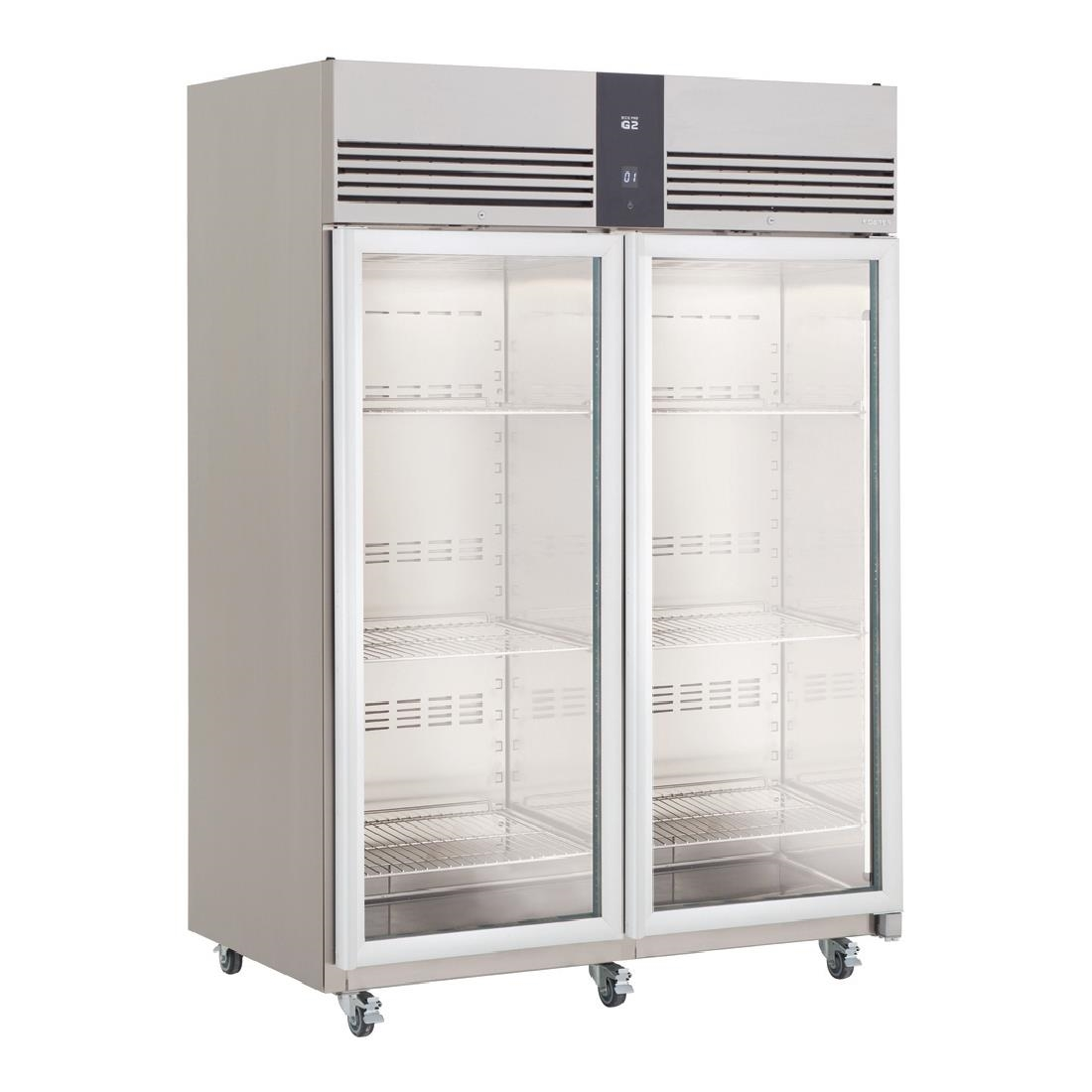 Click to view product details and reviews for Foster Ecopro G2 2 Glass Door 1350ltr Cabinet Fridge Ep1440g 10 214.