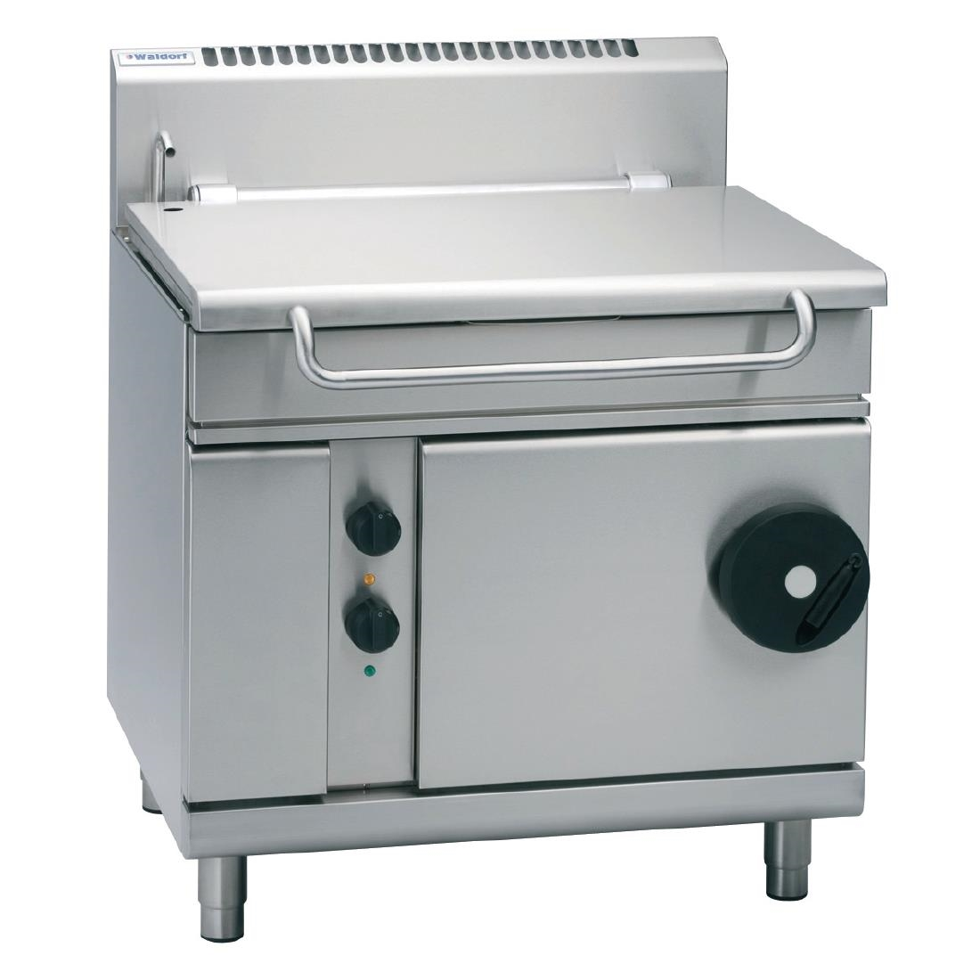 Waldorf by Moffat 900mm 80 Ltr Bratt Pan with Manual Tilt Natural Gas BP8080G