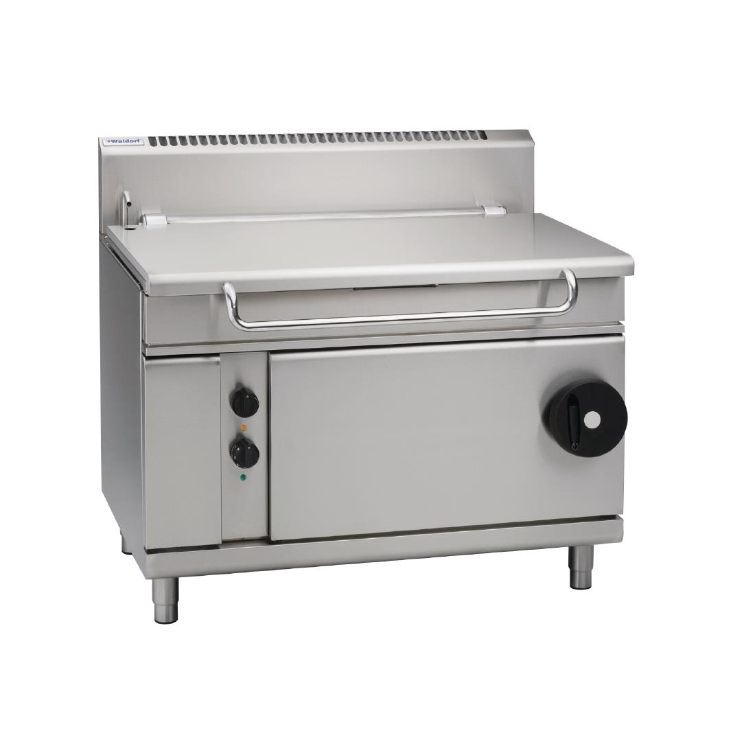 Waldorf by Moffat 1200mm 120 Ltr Bratt Pan with Manual Tilt LPG BP8120G