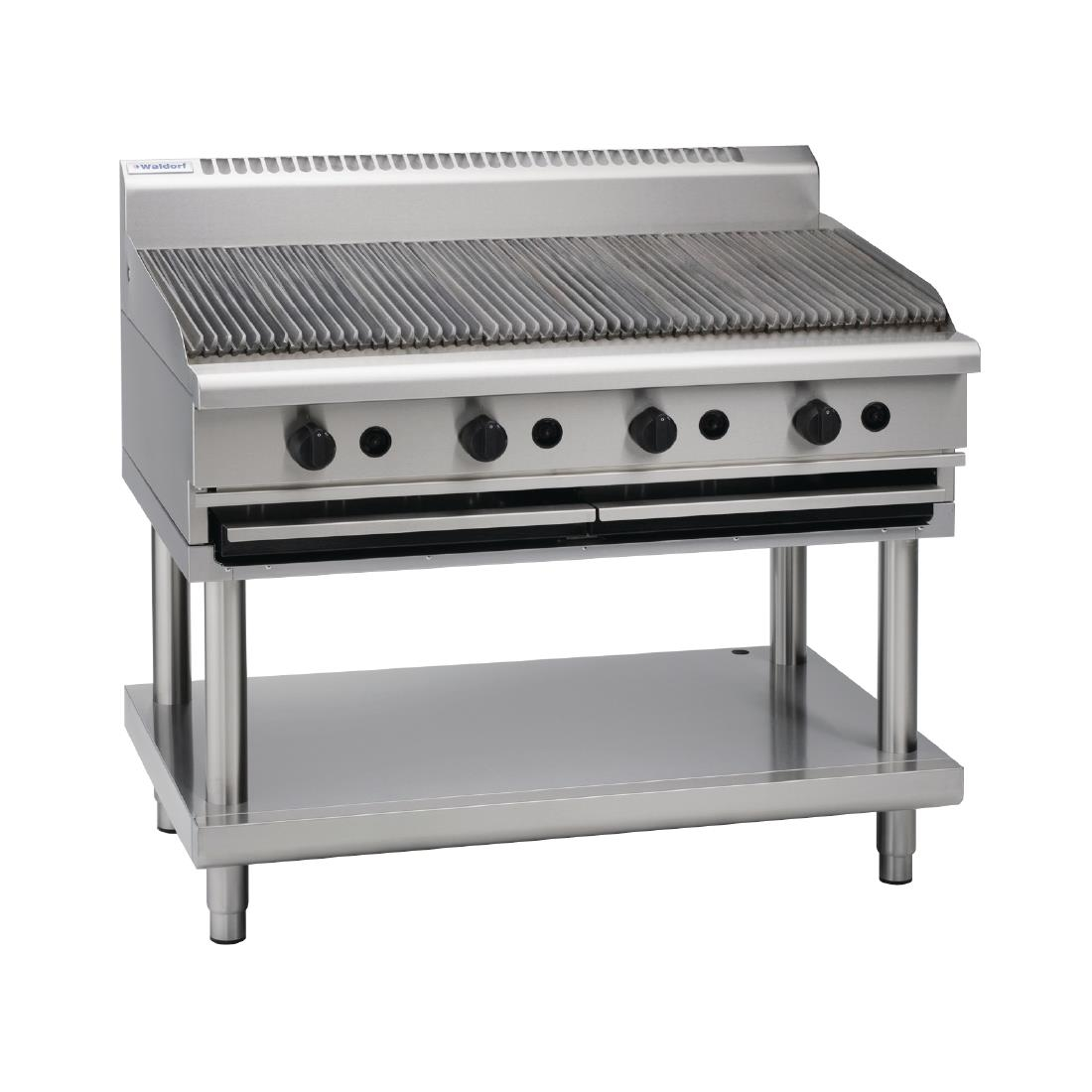 Waldorf by Moffat 1200mm Chargrill Natural Gas CH8120G-LS