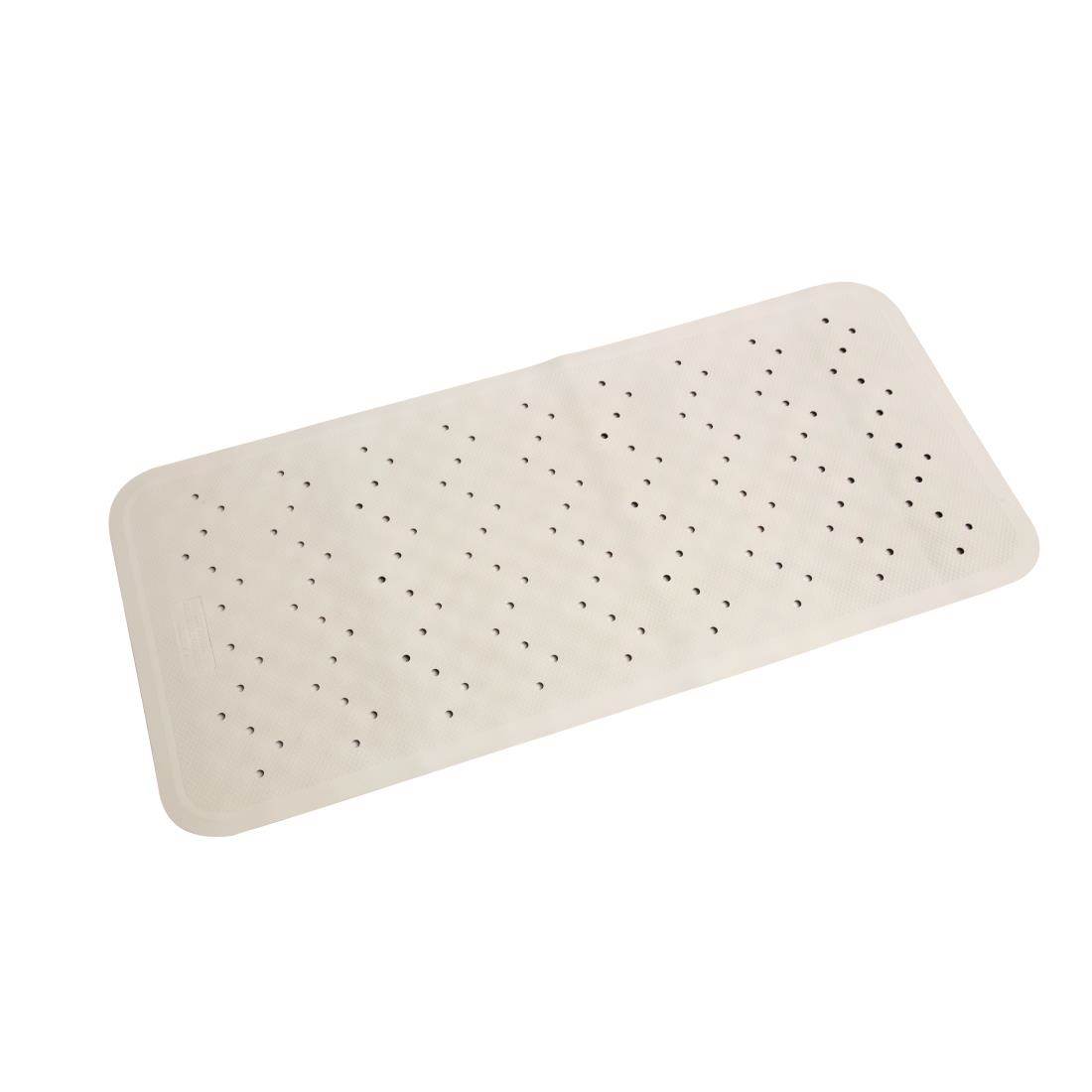 Mitre Essentials Bath Mat White GT718 Buy Online at Nisbets