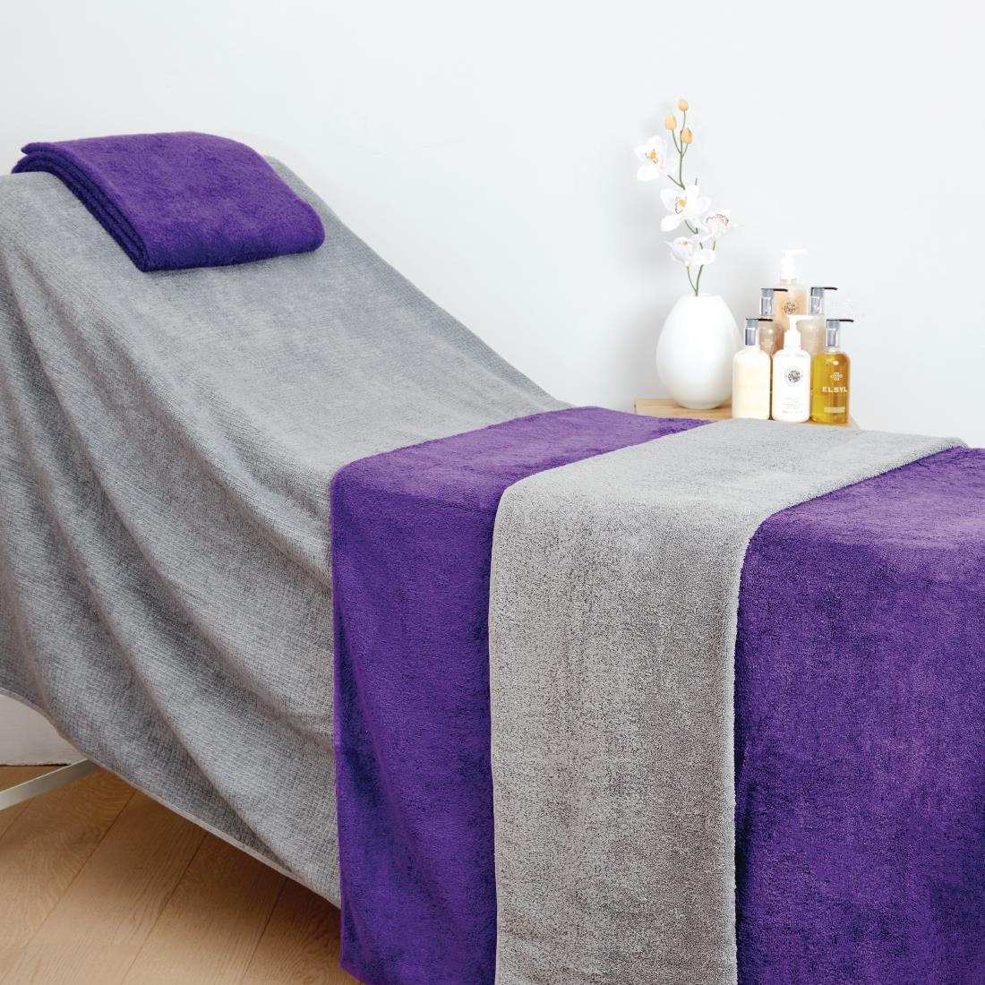 Image of Mitre Comfort Enigma Massage Couch Cover Slate