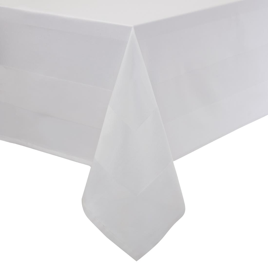 Image of Mitre Luxury Satin Band Tablecloth 2290 x 2290mm