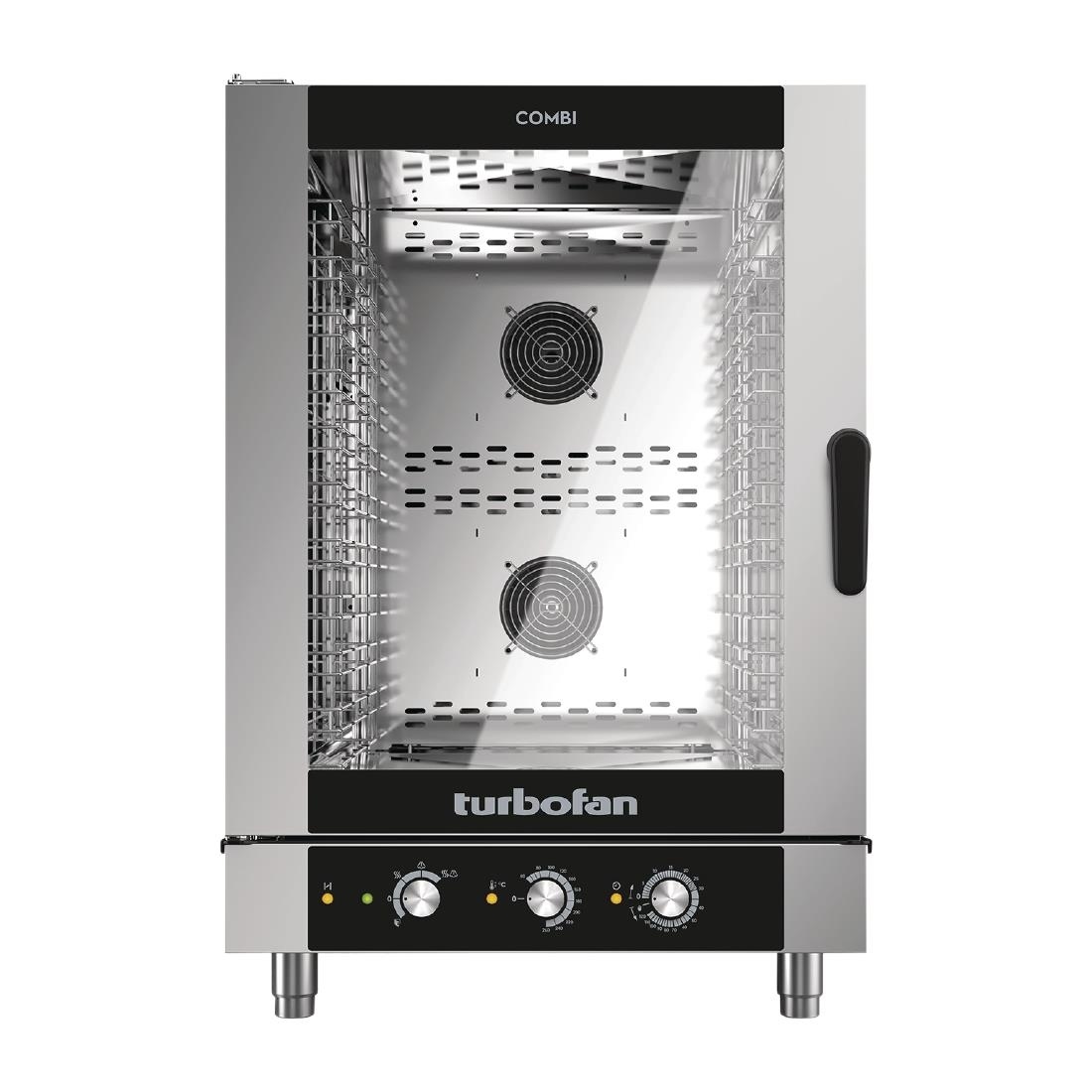Click to view product details and reviews for Blue Seal Turbofan 10 Grid Manual Control Combi Oven Ec40m10.