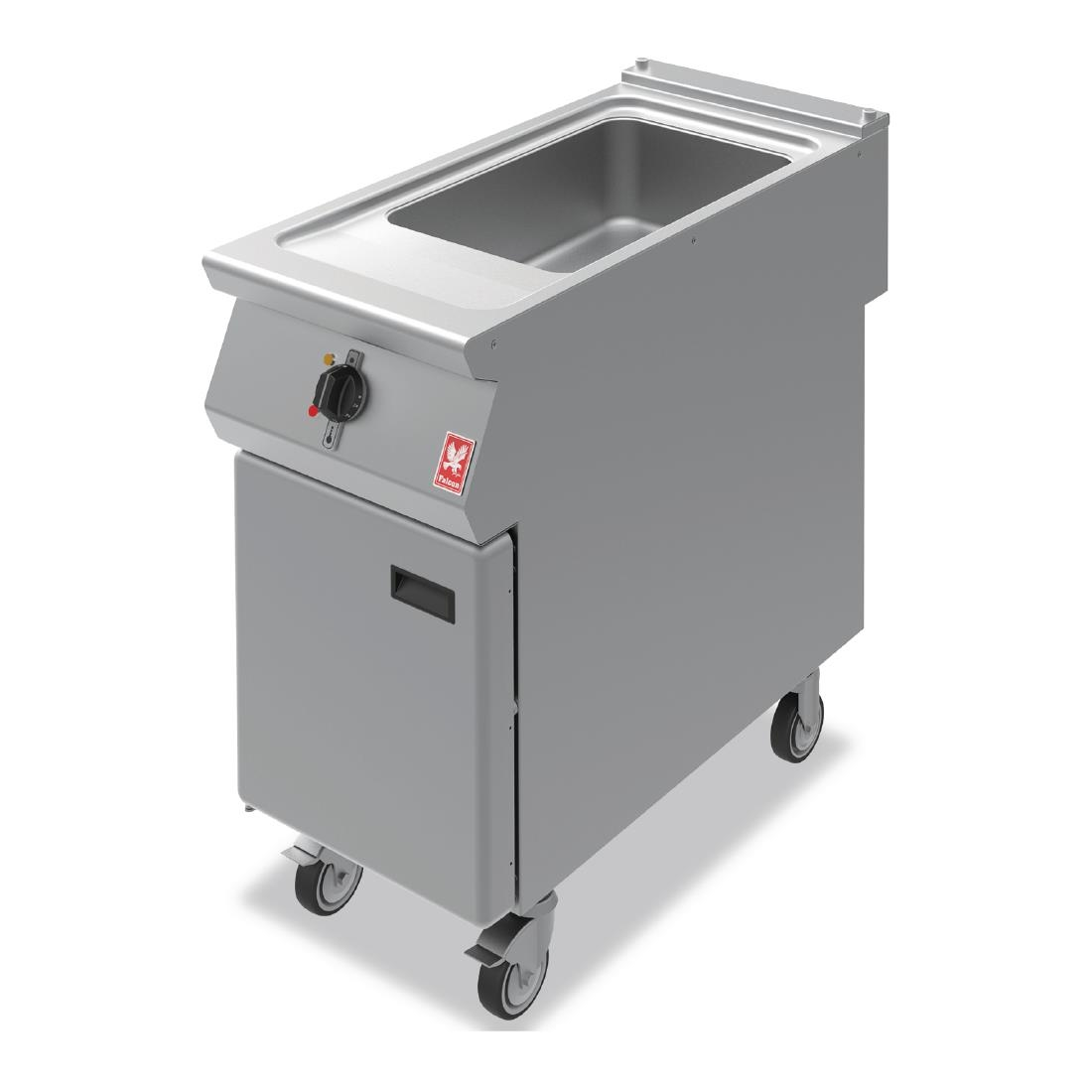 Click to view product details and reviews for Falcon F900 Bain Marie On Castors E9641.