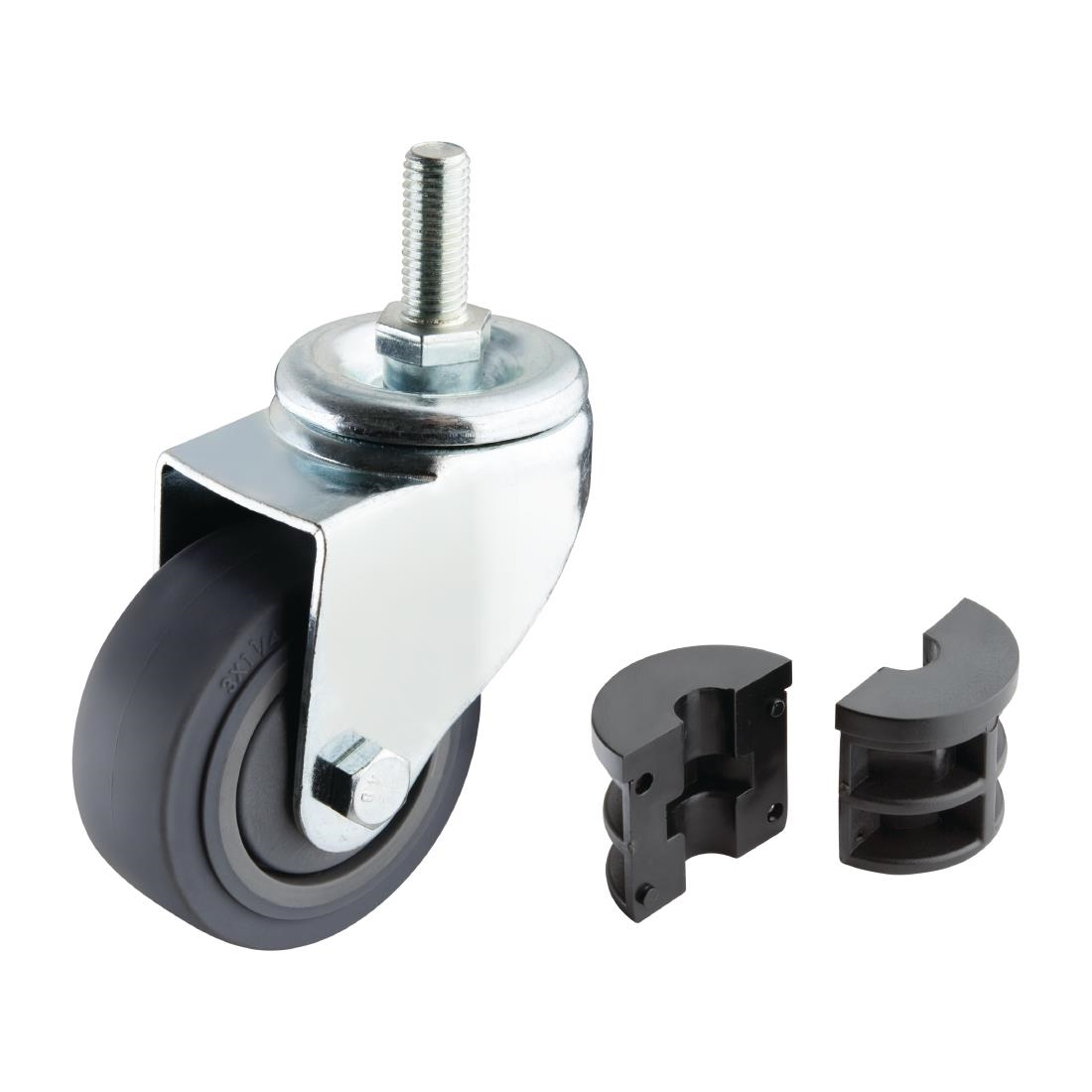 Vogue Castors for Vogue Stainless Steel Tables (Pack of 4) Pack of 4