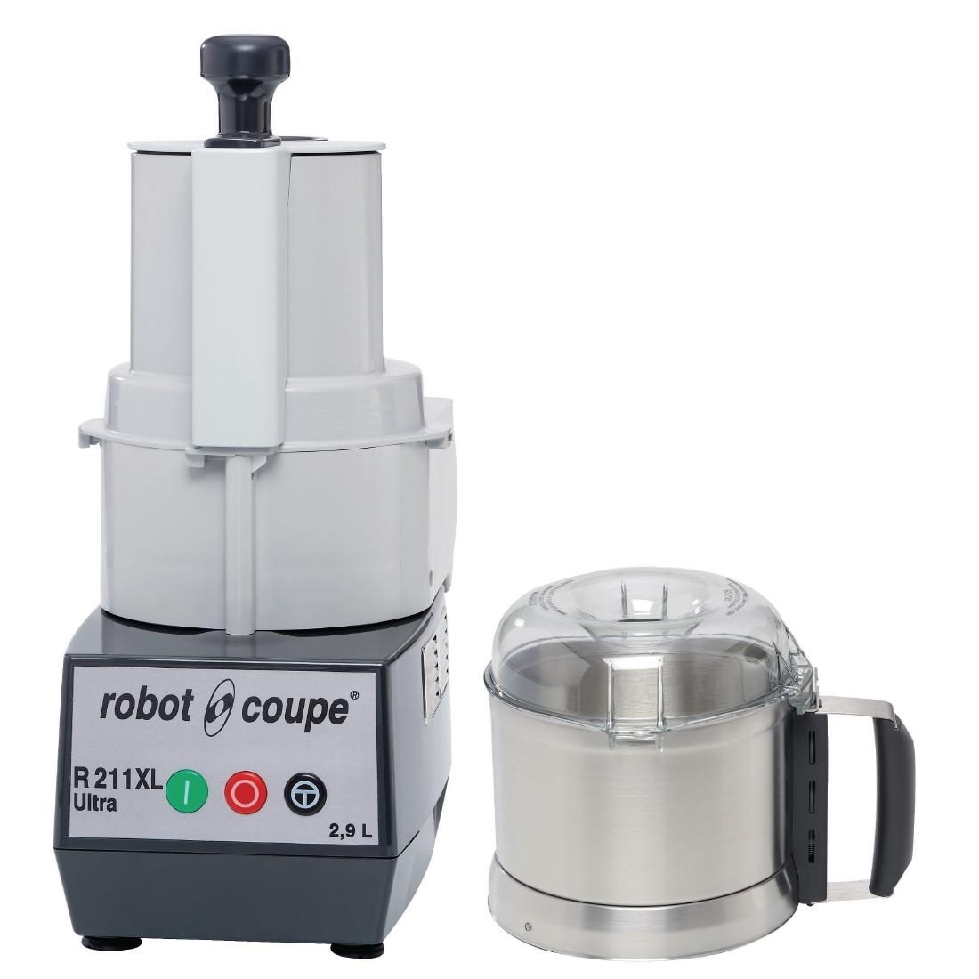 Robot Coupe Food Processor with Veg Prep Attachment R211XL Ultra