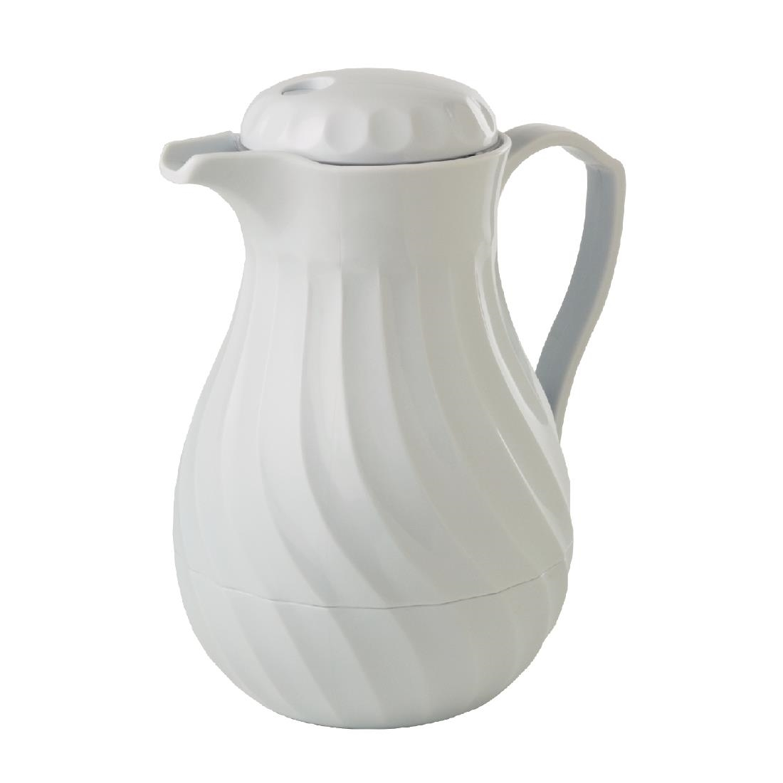 Image of Kinox Insulated Coffee Jug White 1.1Ltr