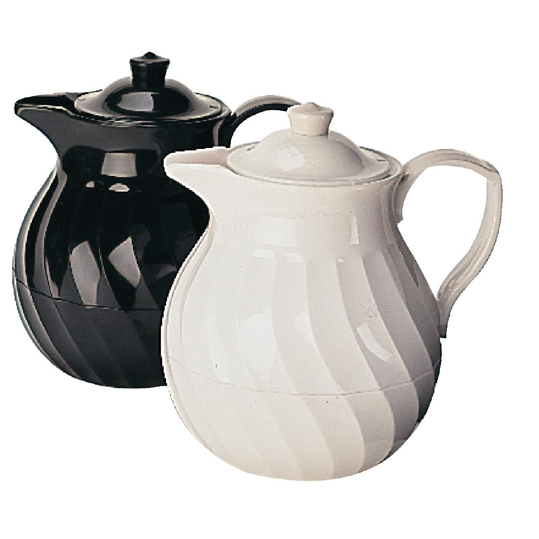 Image of Kinox Insulated Teapot Black 1 Ltr