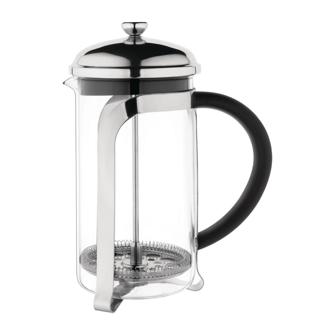 Olympia Traditional Glass Cafetiere 8 Cup