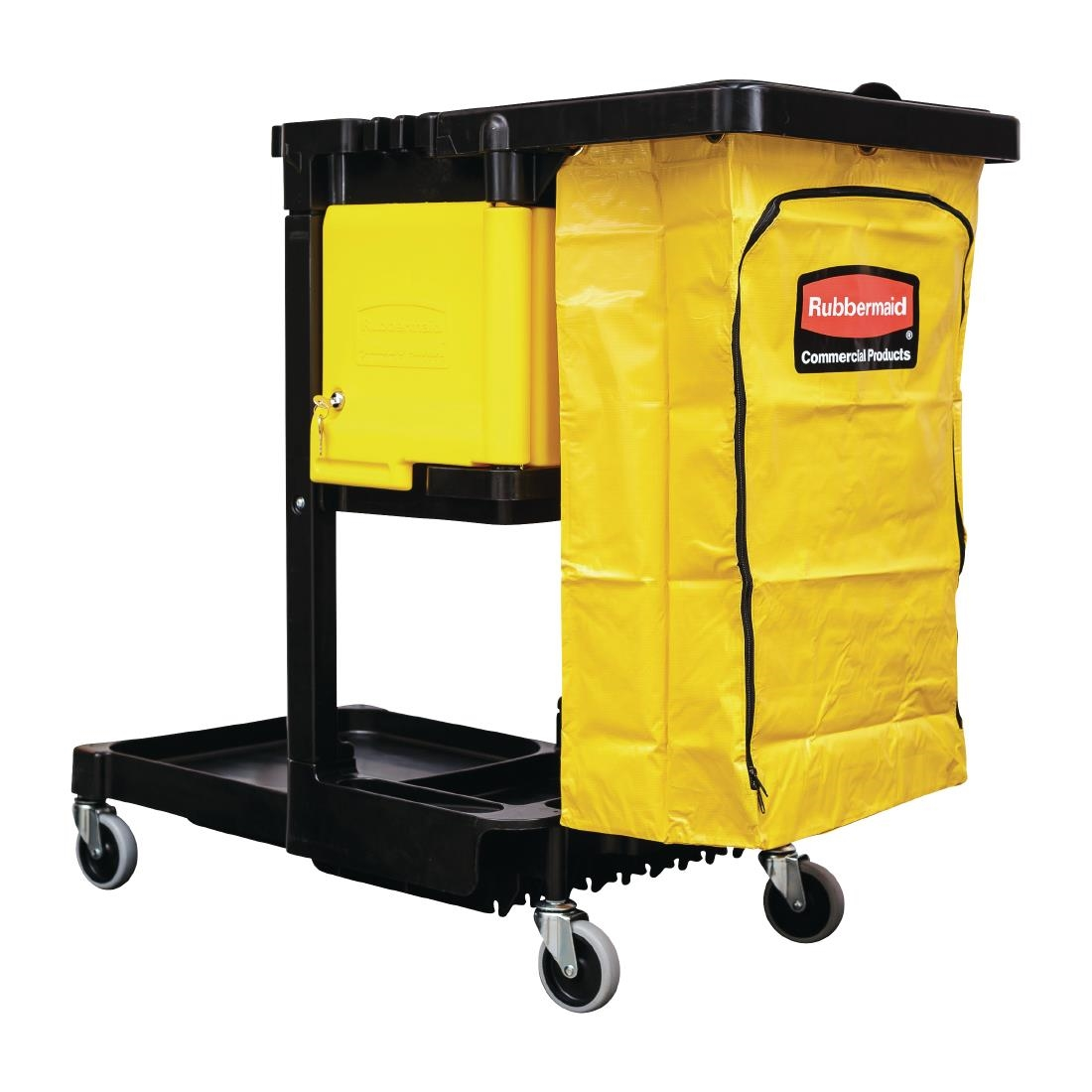 Click to view product details and reviews for Rubbermaid Cleaning Trolley.