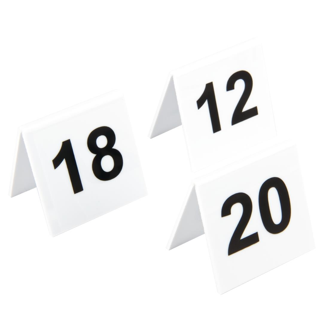 Plastic Table Numbers 11 20 L982 Buy Online At Nisbets