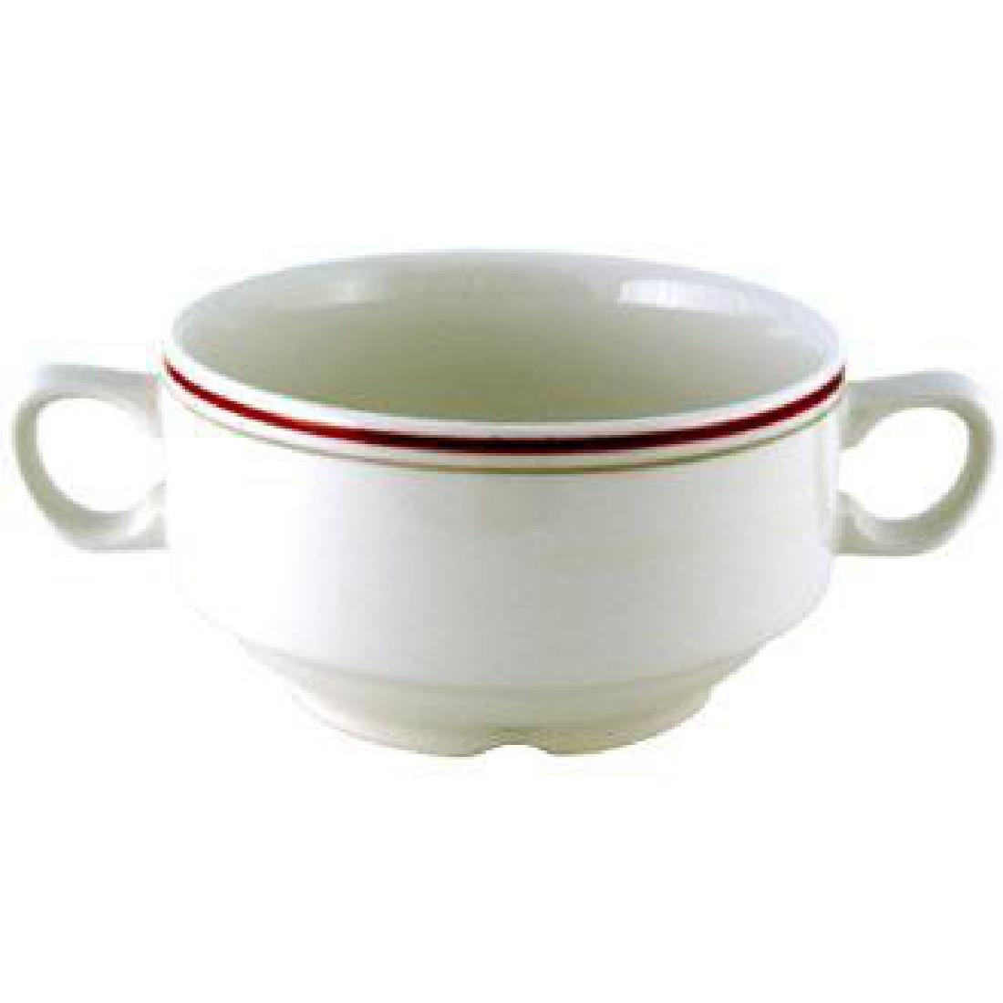 Click to view product details and reviews for Churchill Nova Clyde Handled Soup Bowls 398ml Pack Of 24 Pack Of 24.