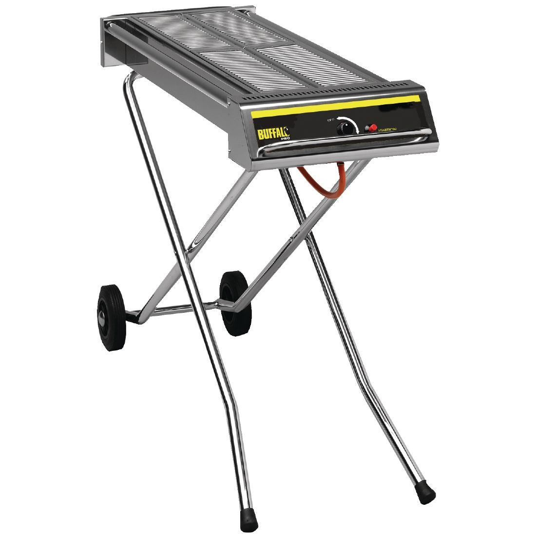 Bbq Sale Uk Part - 27: Buffalo-folding-propane-gas-barbecue-on-wheels