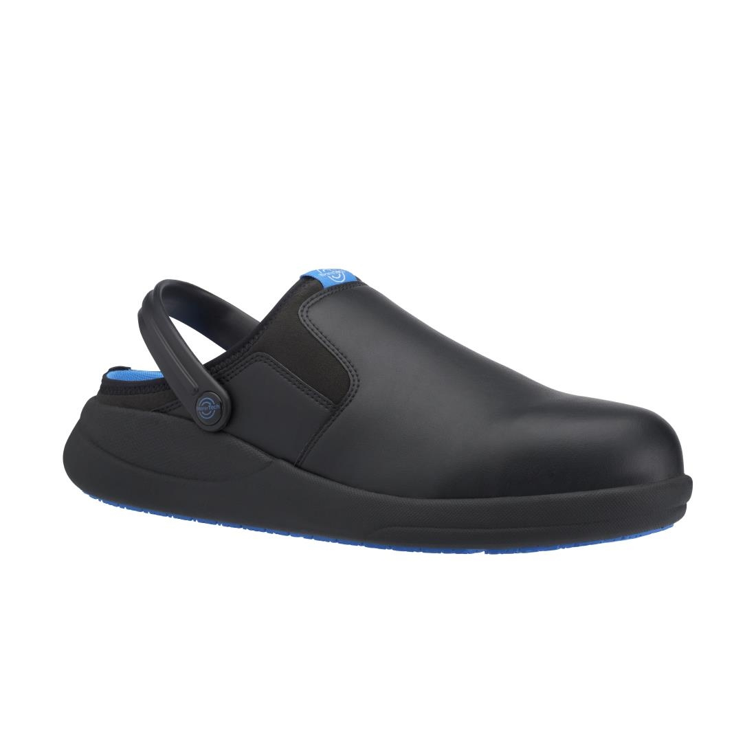 Wearertech Refresh Safety Clog Black With Firm Insole Size 37