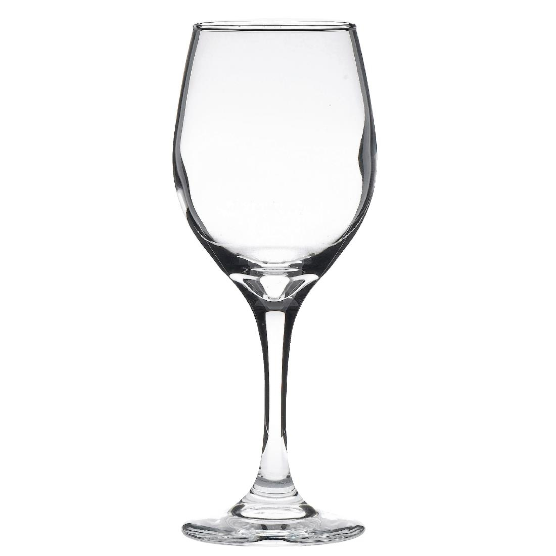 Libbey Perception Wine Glasses 320ml CE Marked at 250ml Pack of 12