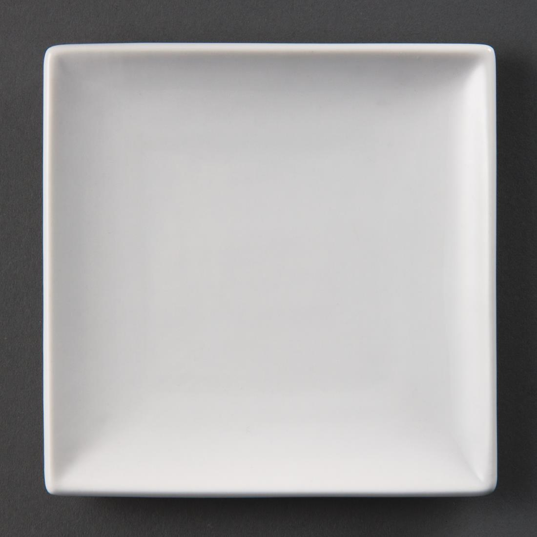 Olympia Whiteware Square Plates 140mm