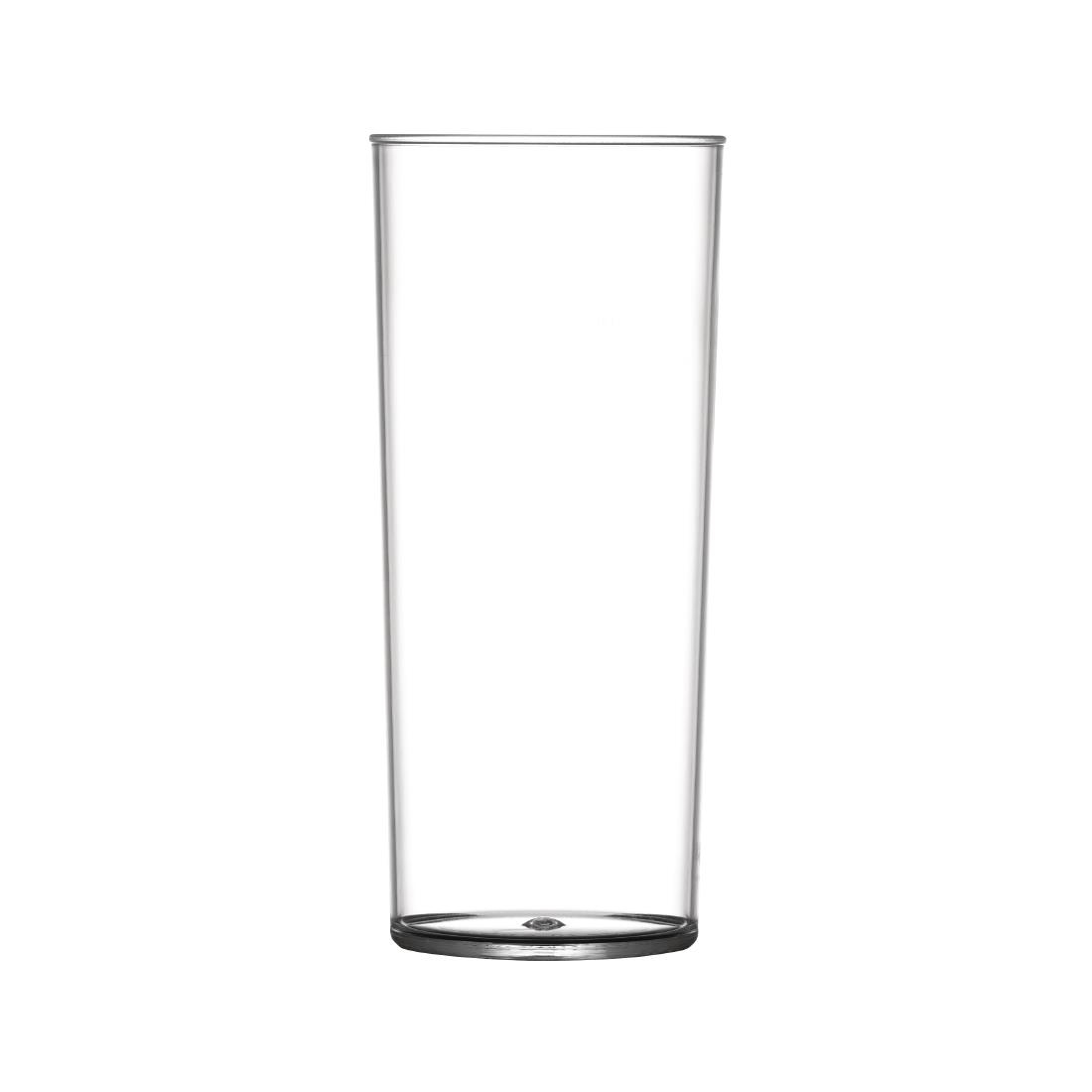 Image of BBP Polycarbonate Hi Ball Glasses 340ml CE Marked (Pack of 48) Pack of 48