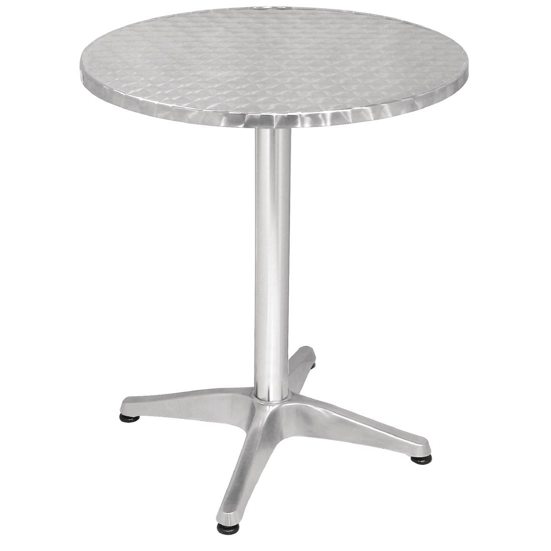 Bolero Round Bistro Table Stainless Steel 600mm U425 Buy