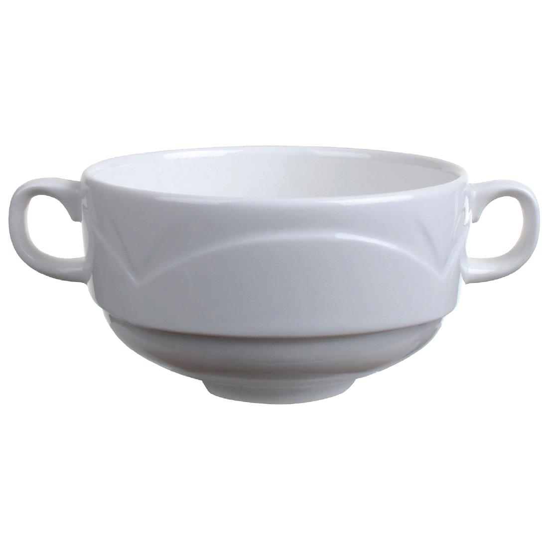 Click to view product details and reviews for Steelite Bianco Handled Soup Cups 284ml Pack Of 36 Pack Of 36.