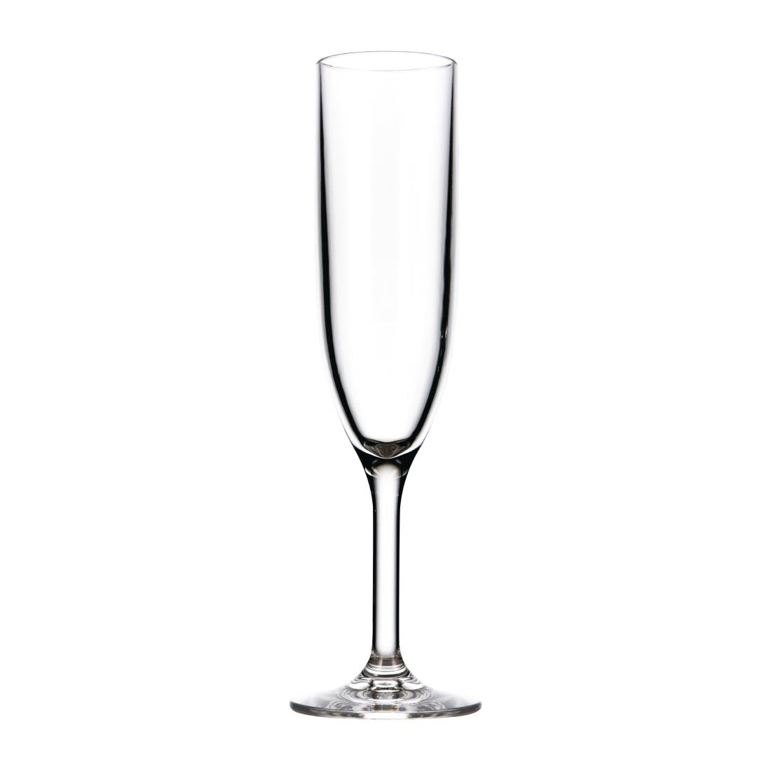 Image of Drinique Elite Tritan Champagne Flutes Clear 170ml (Pack of 24) Pack of 24