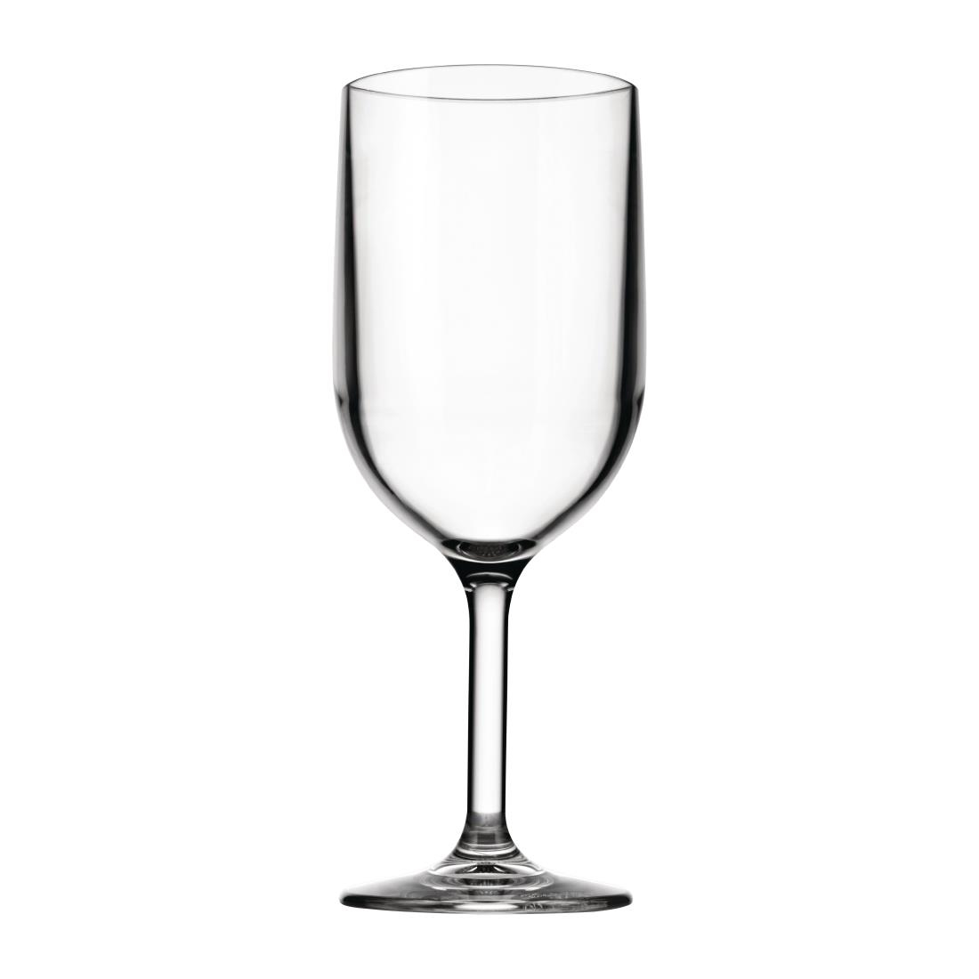 Image of Drinique Elite Tritan Stemmed Wine Glasses Clear 340ml (Pack of 24) Pack of 24