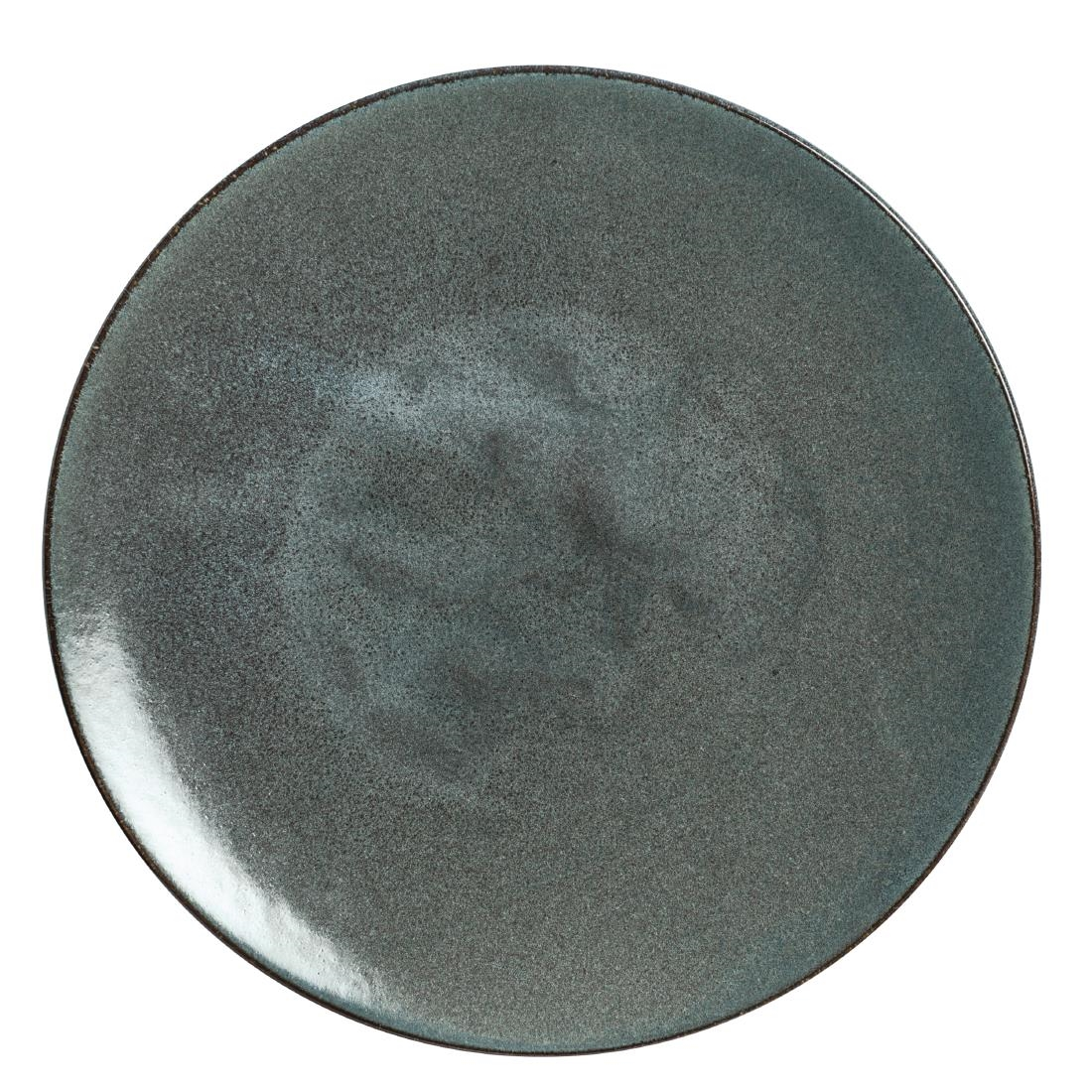 Rene Ozorio Wabi Sabi Coupe Plates Galet 285mm (Pack of 6) Pack of 6