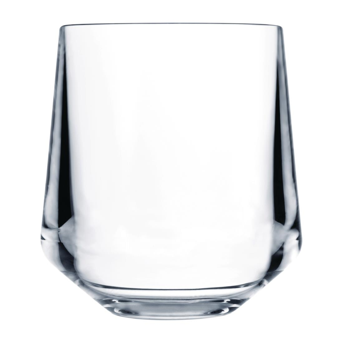 Image of Drinique Elite Tritan Stemless Wine Glasses Clear 340ml (Pack of 24) Pack of 24