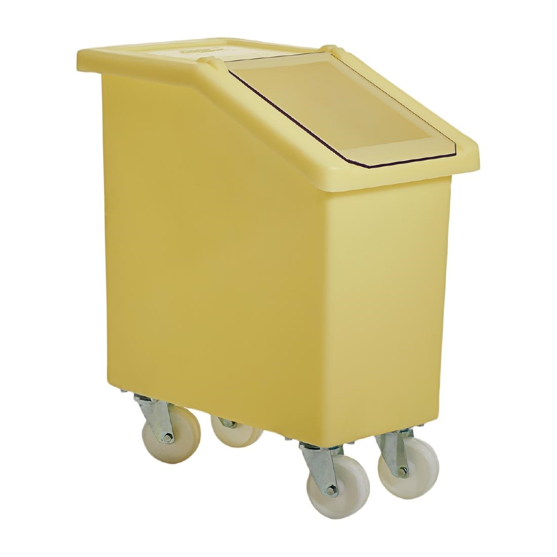 Image of Mobile Ingredient Bin 65Ltr Yellow