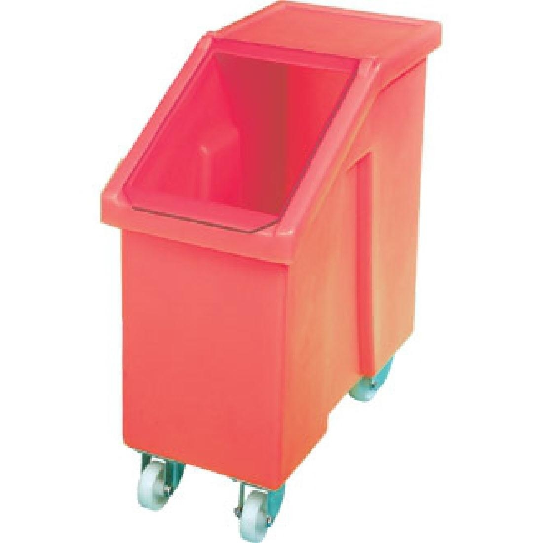 Image of Mobileingredient Bin 90Ltr Red