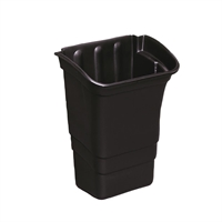 Rubbermaid F693 X-tra Utility Trolley Black