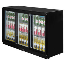 Commercial Display Refrigeration Glass Front Chilled